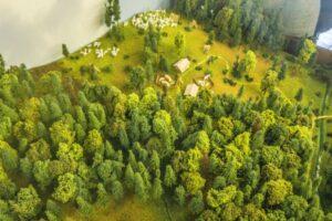 Leśny Ośrodek Edukacji Ekologicznej na Dzielcu w Istebnej.