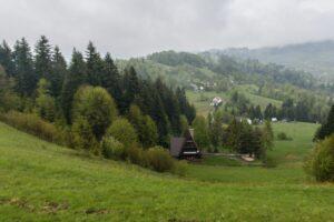 Na grzbiecie Skalanka - Beskidek - Rachowiec.