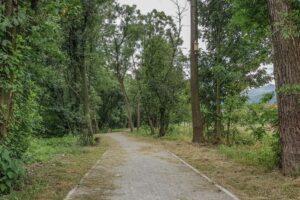 Nowa ścieżka rowerowo-spacerowa w Węgierskiej Górce.