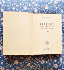 Moja pierwsza książka o Beskidach.