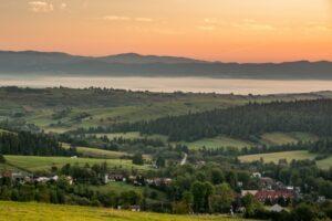 Mój ulubiony krajobraz pogranicza Podhala i Spiszu.