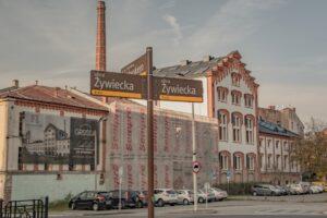 Manufaktura Grossa - widok od ul. Żywieckiej.
