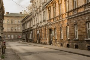 Ulica Paderewskiego.