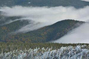 Beskid Żywiecki. Jesienno-zimowe klimaty na Babiej Górze.