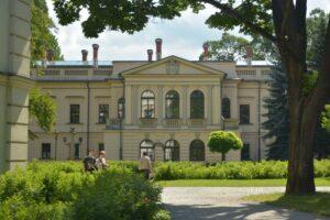 Pałac Habsburgów w Żywcu, tzw. Nowy Zamek.