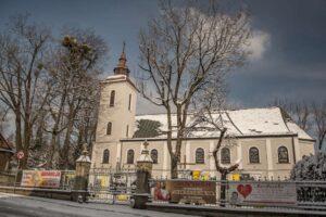 Rzymsko-katolicki kościół św. Trójcy.