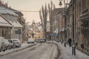 Ulica Jana III Sobieskiego w Bielsku-Białej.