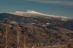 Babia Góra dzisiaj to królestwo zimy. :)