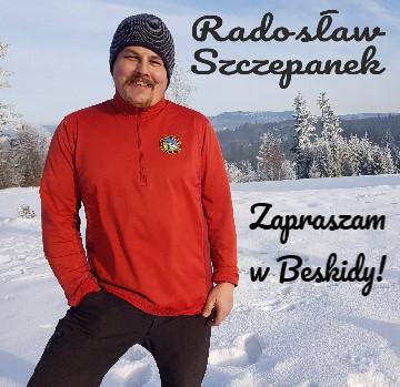 PRzewodnik Beskidzki Radosław Szczepanek zaprasza w Beskidy!
