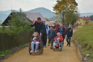 Bardzo pozytywnie wspominam wszystkie wycieczki w Beskidy z osobami Niepełnosprawnymi.